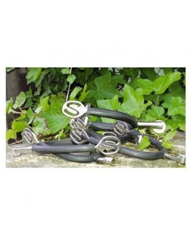 PESSOA RUBBERED LADIES SPURS WITH WHEEL