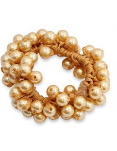 SD DESIGN PEARLS SCRUNCHIE