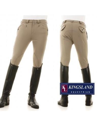 Pantalón de Equitación Kingsland Charles Plated