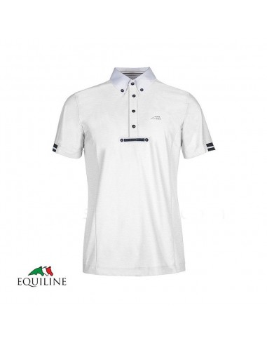EQUILINE VICK MAN COMPETITION POLO SHIRT