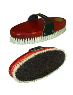 BODY BRUSH OF WOOD AND NATURAL HAIR BUMAG