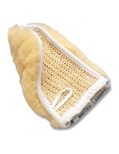 GLOVE OF NATURAL SHEEPSKIN AND CACTUS MATTES