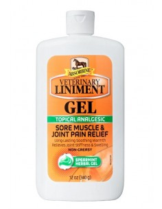 GEL RELAJANTE DE MUSCULOS Y TENDONES ABSORBINE ANALGESIC