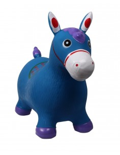 INFLATABLE RUBBER HORSE FOR KIDS