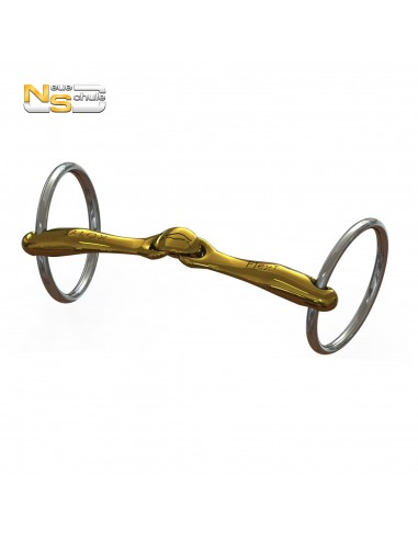 DOUBLE JOINTED BIT OF SMALL RINGS NEUE SCHULE TURTLE TOP 14MM