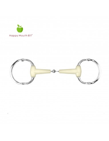EGGBUTT GAG BIT JOINTED OF RUBBER APPLE SAVOR SS 18MM