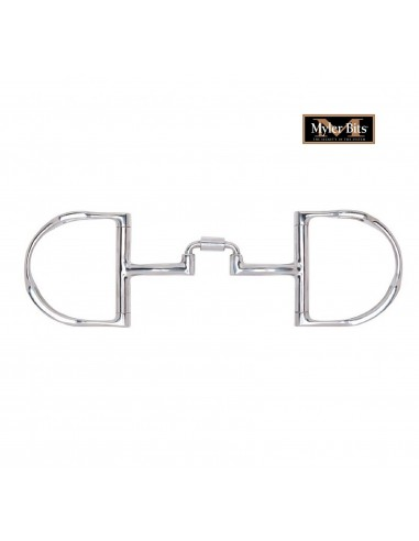 D-RING BIT DOUBLE JOINTED ANATOMIC MYLER LEVEL 3 11MM