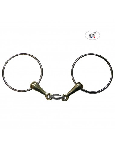 DOUBLE JOINTED BIT WITH XXL RINGS HG 21MM