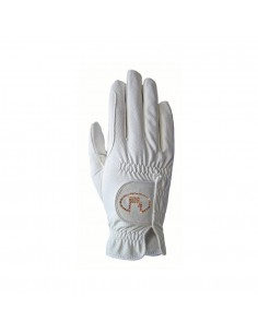 ROECKL REIT FUNCTION CON SWAROVSKI HORSE RIDING GLOVES