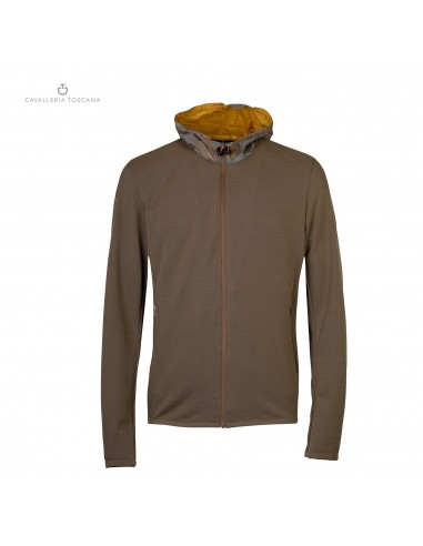 RIDING JACKET CAVALLERIA TOSCANA PIQUE HOOD
