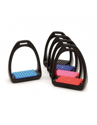 STIRRUPS WITH IRON TREAD COVER ANTI-SLIP
