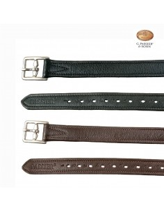 STIRRUP LEATHERS PASSIER VELVET TOUCH DELUXE 25MM