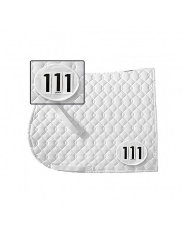 SADDLE PAD NUMBER FOR COMPETITION