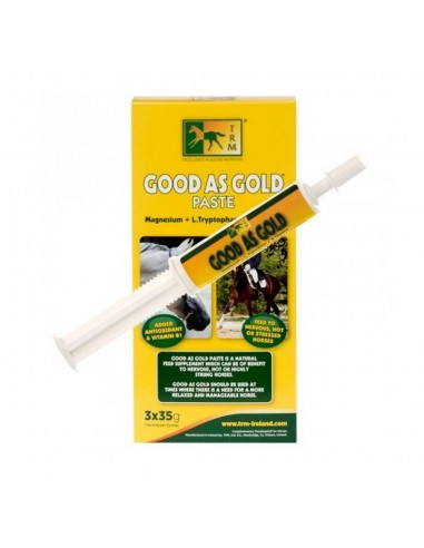 CALMING SUPPLEMENT FOR STRONG HORSES TRM GOOD AS GOLD 3X35GR