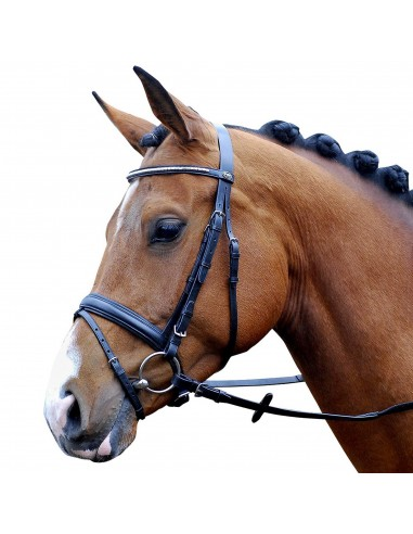 SNAFFLE BRIDLE PASSIER JUNO