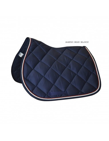 JUMPING SADDLE PAD WITH DOUBLE BORDER