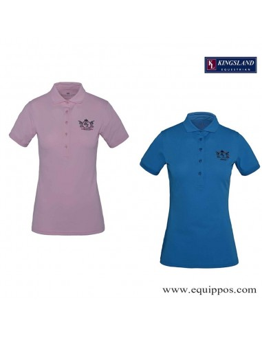 KINGSLAND TRAYAS LADIES TEC PIQUE POLO SHIRT