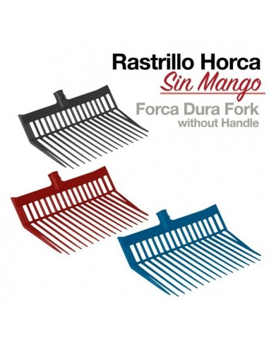 Rastrillo Horca sin Mango Dura Forck