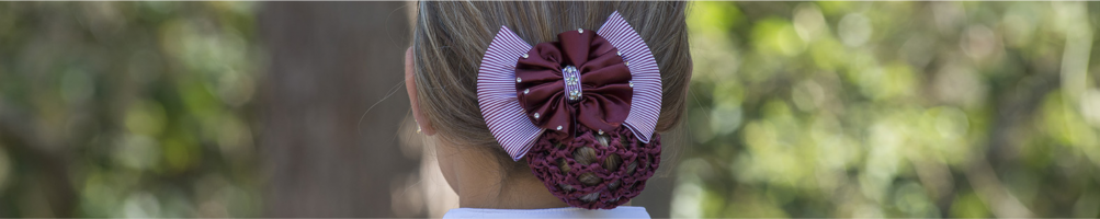 Hair Nets and Hair Clips for Horse Riding
