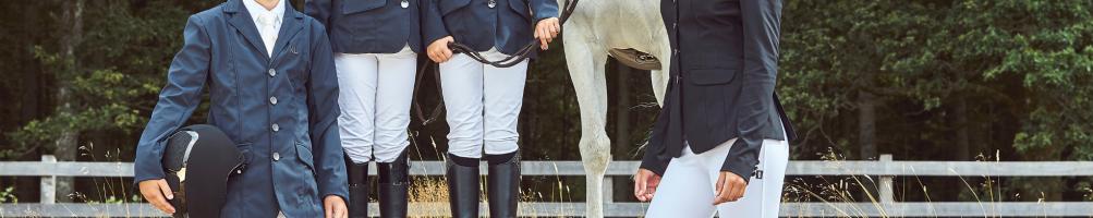 Pantalones Competición Equitación Niños