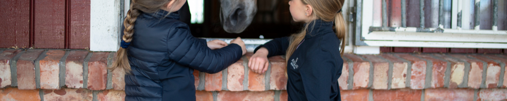 Casual Horse Riding Equestrian Jackets for Children